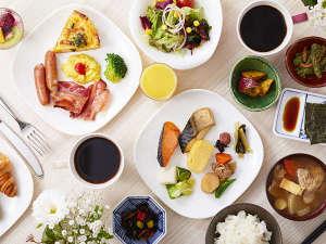 ホテルメトロポリタンさいたま新都心(2017年6月オープン):朝食は和洋織り交ぜたビュッフェスタイルです。