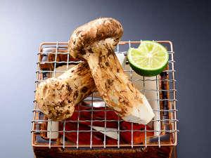 名栗温泉 大松閣:★松茸会席プラン★(料理一例)松茸の味を存分にひきたたせる様、板前が腕をふるいます。