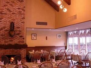 ホテルモンテローザ:レストラン「アルムの森」