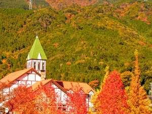 ホテルモンテローザ:秋のモンテローザ