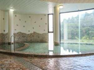 もみじ川温泉:*【温泉】明るく景色が一望できる源泉100%の温泉です。