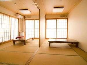 駅前山小屋 A-yard:会議やミーティングにもご利用頂ける和室10畳スペース。