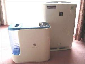 【無料貸出し】 加湿器・加湿機能付空気清浄機(プラズマクラスター)※数に限りあり