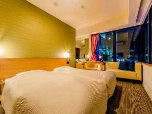 CANDEO HOTELS(カンデオホテルズ)福岡天神:コーナービューツイン