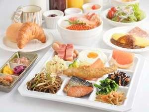 【函館朝食】~盛付例~和食はもちろん洋食も充実!