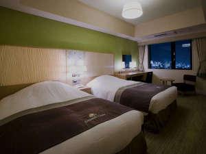 ホテルモントレ グラスミア大阪:ツインルーム(客室一例)