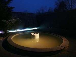 モンゴリアビレッジ テンゲル:開放感のある露天風呂