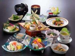 飯坂温泉 あづま荘:*夏の夕食一例