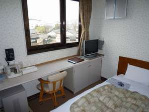 酒田グリーンホテル:山居倉庫を望む、シングルA