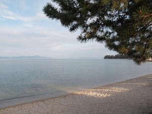 ホテル 琵琶レイクオーツカ:◆ホテルの目の前は白砂青松の雄松ヶ里が広がります。