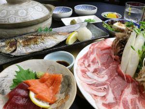 諏訪温泉:その日の食材を最大限に活かした料理長おすすめのお任せ料理をご提供させていただきます。