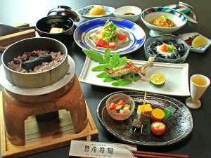川湯温泉 亀屋旅館:熊野の恵みをいただく。亀屋は「薬食同源」を美味しく実践いたしました♪