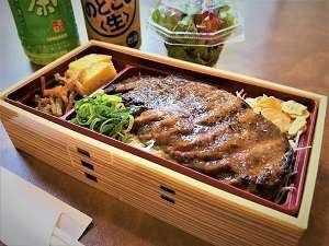 牛ロ-スステ-キ弁当