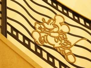ディズニーアンバサダー(R)ホテル:ディズニーキャラクターのモチーフ(一例)