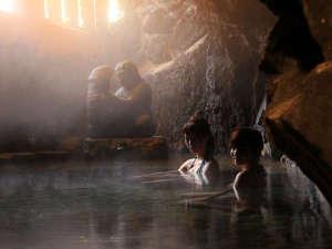 りばてぃ・リゾ・音AMAGISO[旧:天城荘]:*子宝の湯 やわらかい光に包まれ癒されます。