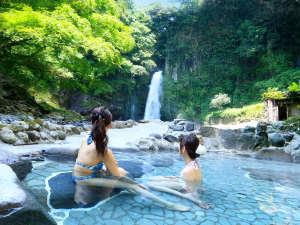 伊豆最大の大滝 AMAGISO-天城荘-[LIBERTY RESORT]:*マイナスイオンたっぷりの大滝温泉を眺める極上の時間
