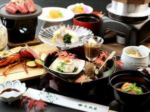 伊豆最大の大滝 AMAGISO-天城荘-[LIBERTY RESORT]:*【煌-kou-】冬のお料理一例です 料理内容は変更になる場合がございます