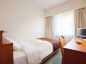 ホテルパールシティ盛岡(HMIホテルグループ):◆スタンダードシングルルーム【12平米 ベットサイズ105×195】