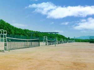 PICA秩父:テニスコート(クレー46面・ハード6面)