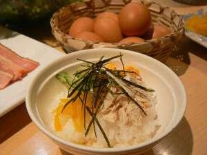 【朝食】鹿児島奄美名産の鶏飯