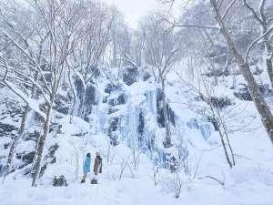 星野リゾート 奥入瀬渓流ホテル:【氷瀑スノーシューツアー】冬の絶景を巡る人気のツアー。ガイド同伴で初心者の方にも安心です(無料)