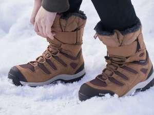 【スノーブーツレンタル】防寒・防水で冬の雪の中を安心して楽しめます(14cm~30cm)。