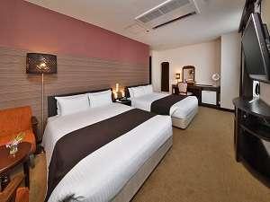 アーヴェストホテル大森:スーペリアツインルーム(Bed140×195cm×2台)
