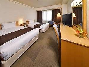 アーヴェストホテル大森:ツインルーム(Bed120×195cm×2台)