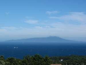 宿から望む~沖に浮かぶ伊豆諸島の絶景
