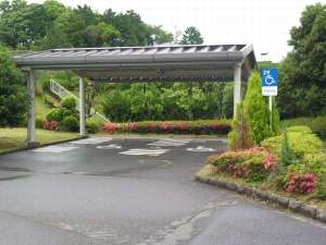障害者専用駐車場『2台駐車可』