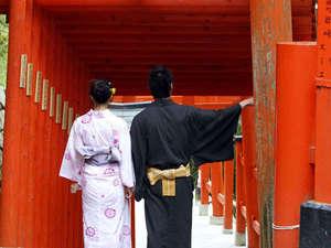 縁(ゆかり)の宿 幸楽:小京都の町へお出かけ