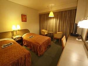 清水グランドホテル(旧ホテルサンルート清水):【ツイン】ゆったりとしたお部屋