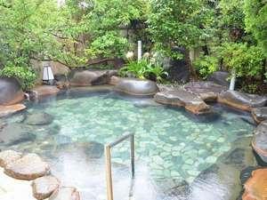 河内屋  源泉かけ流し100%の湯宿:【源泉100%の露天風呂】男女入れ替え制なので2種類のお風呂を楽しめる♪
