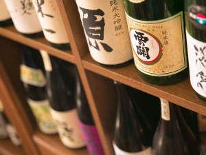 ■地酒■直接買い付けで選び抜いた、粒ぞろいの地酒がズラリと並びます♪