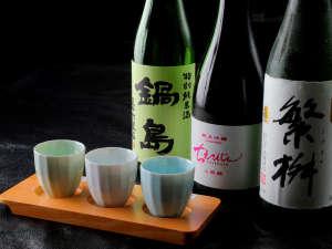 ■地酒■ 直接買い付けで選び抜いた、粒ぞろいの地酒がズラリと並びます♪