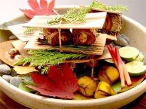割烹旅館 白為旅館:秋の旬を心ゆくまでご堪能ください(一例)