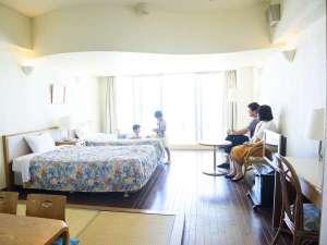 ホテルゆがふいんBISE:子ども連れにうれしい広々和洋室!!