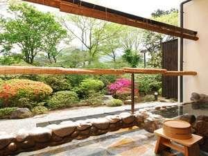 仙石原 露天付客室充実の宿 品の木一の湯:品の木一の湯 本棟1階露天風呂付客室