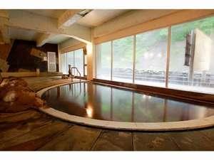 天人閣:大浴場 見返り岩
