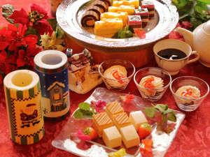 クリスマス期間中12/21~25限定デザート食べ放題!