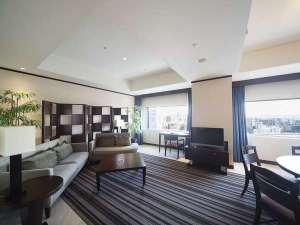 ANAクラウンプラザホテル岡山:【プレジデンシャルスイート】90平米日常を忘れていつもより贅沢な特別な時間をお過ごし下さい。