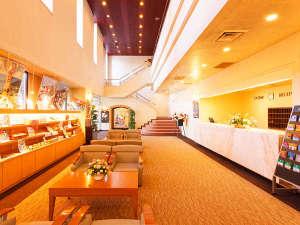 ホテルパールシティ気仙沼 (HMIホテルグループ):メインロビーは打ち合わせや待ち合わせにご利用いただけます。