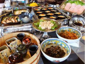 ホテルパールシティ気仙沼 (HMIホテルグループ):≪朝食の和洋バイキング≫約20種類のメニューをご用意しております。