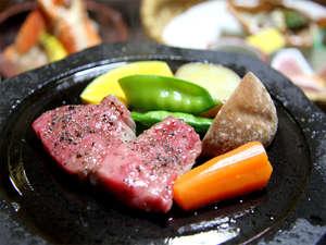能登観光ホテル:ランクAの特上能登牛!ジューシーで間違いなしの美味しさ♪(一例)