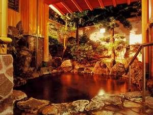 かがり火の宿 有楽:のんびりと露天風呂