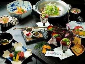 黒川温泉 黒川荘:春料理一例