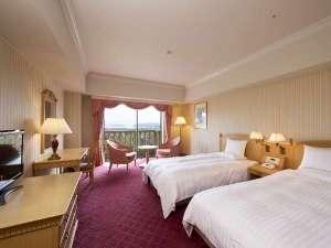 ホテルオークラJRハウステンボス:パークビューツイン客室一例