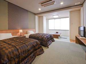こんぴら温泉郷 つるや旅館:和洋室ツイン