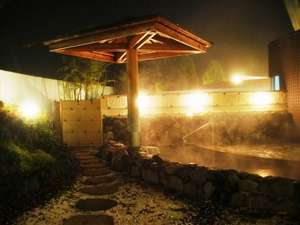 かんぽの宿阿蘇:湯ったりくつろげる和風露天風呂