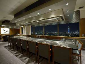 ホテルイースト21東京 ~オークラホテルズ&リゾーツ~:鉄板焼 木場
